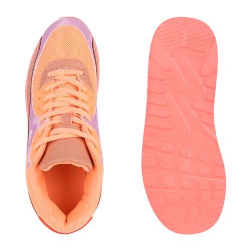 Damen Sportschuhe Laufschuhe - Orange