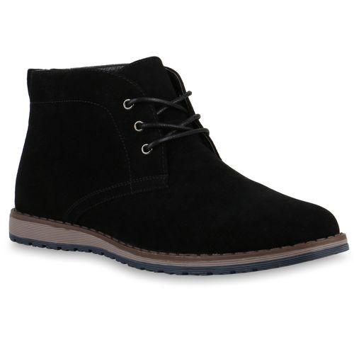 Herren Desert Boots - Schwarz