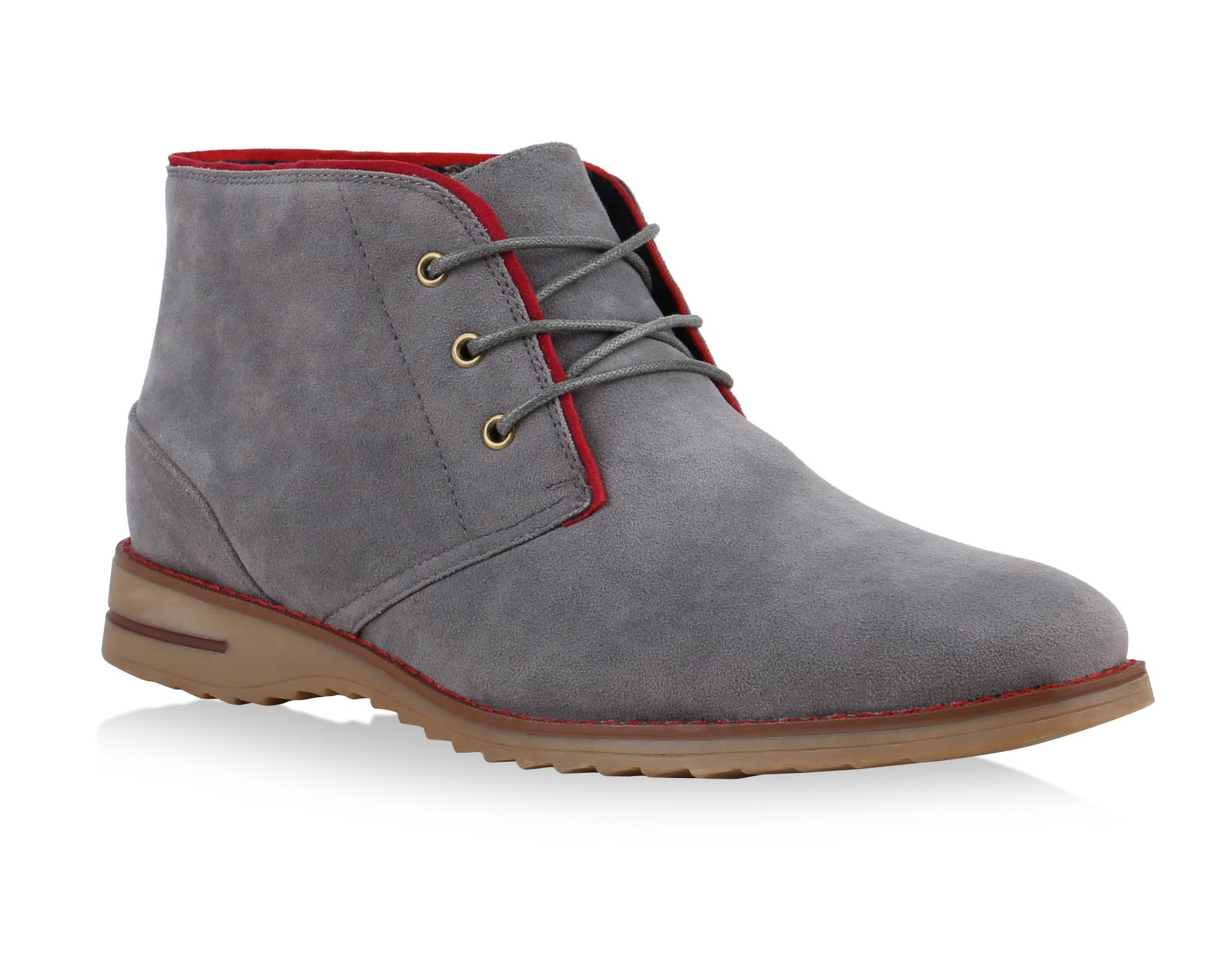 Herren Boots Desert Boots - Grau