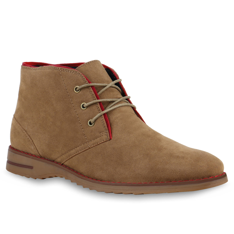 Herren Boots Desert Boots - Khaki
