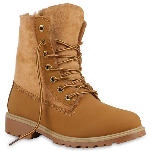 Boots Damen Worker Damen Stiefeletten Worker Boots Damen Hellbraun Hellbraun Stiefeletten wFq8gfxnA