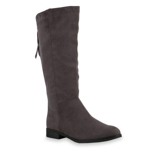 Damen Klassische Stiefel - Grau