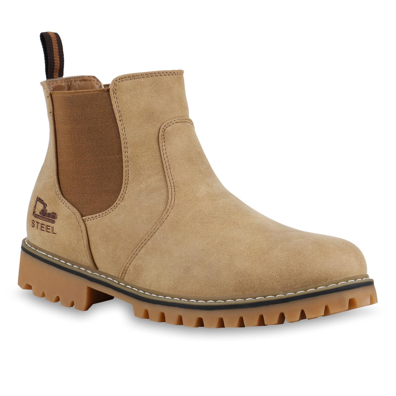 e13596da44fe6b Herren Boots in Khaki (813385-481) - stiefelparadies.de