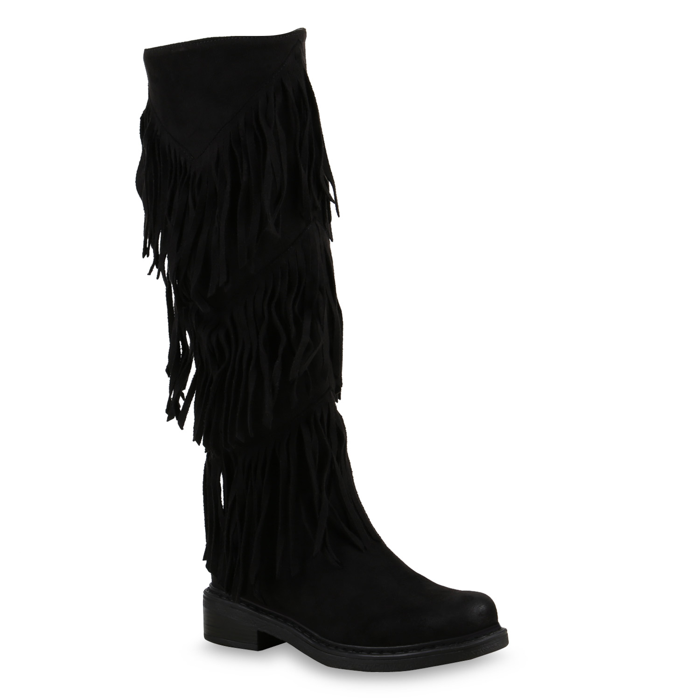 Damen Klassische Stiefel Schwarz Stiefel Klassische Schwarz Damen IYbEH29WDe