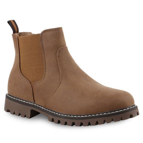 04143af120706e Herren Boots in Braun (813614-150) - stiefelparadies.de
