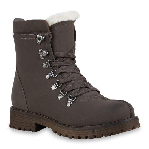 Damen Stiefeletten Outdoor Schuhe - Grau