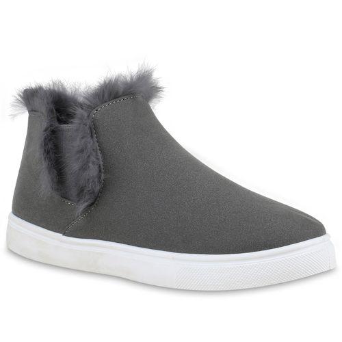 Damen Sneaker Ons Slip Grau Sneaker Damen w0f4qwzT