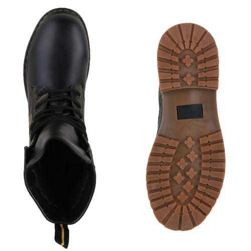 Herren Worker Boots - Camouflage