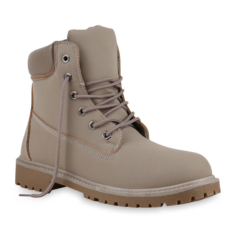 Herren Worker Boots - Stone