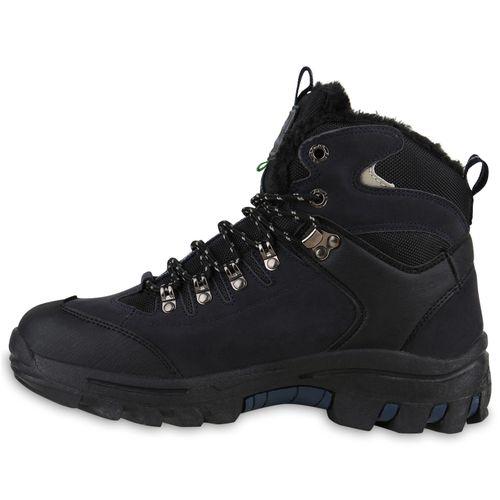 Schwarz Schuhe Herren Blau Boots Outdoor 0OXPw8nk