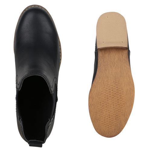 Chelsea Schwarz Boots Damen Stiefeletten Damen Chelsea Schwarz Boots Stiefeletten vHWdg14qv