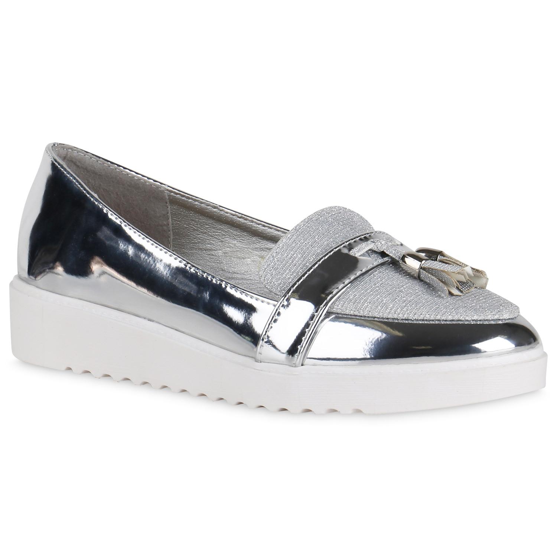 damen slippers in silber 814433 526. Black Bedroom Furniture Sets. Home Design Ideas