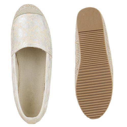 Damen Damen Damen Slippers Espadrilles Slippers Creme Espadrilles Creme Espadrilles Slippers Ydqvcx