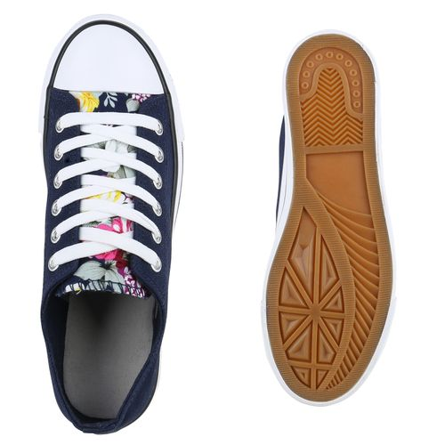 Damen Sneaker Dunkelblau Damen Low Sneaker Damen Dunkelblau Low BB6q8gf