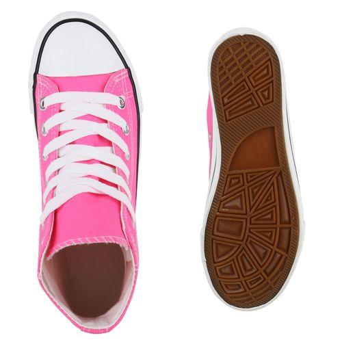 High Sneaker Damen Sneaker Damen Pink qT66tZ