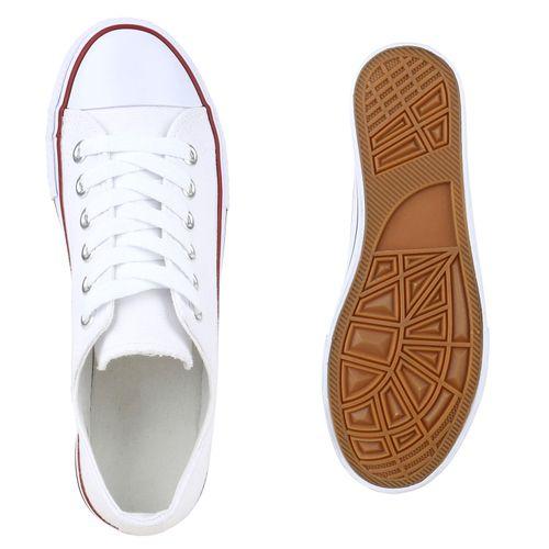 Sneaker Low Sneaker Weiß Low Damen Weiß Damen nIHxgFxq