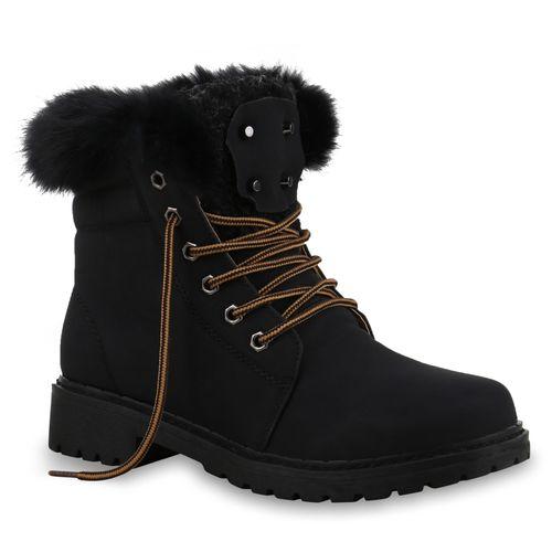 Boots Worker Stiefeletten Worker Worker Boots Boots Schwarz Stiefeletten Damen Damen Damen Stiefeletten Schwarz rrxfOq50