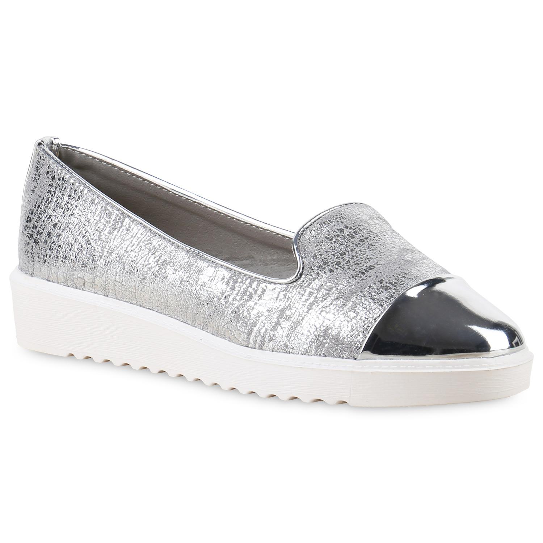 damen slippers in silber 814814 526. Black Bedroom Furniture Sets. Home Design Ideas
