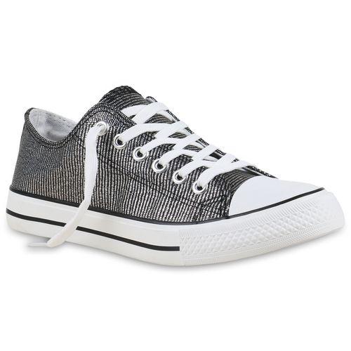 Schwarz Sneaker Low Low Schwarz Damen Damen Sneaker Damen Sneaker Low Schwarz qC45wCgv