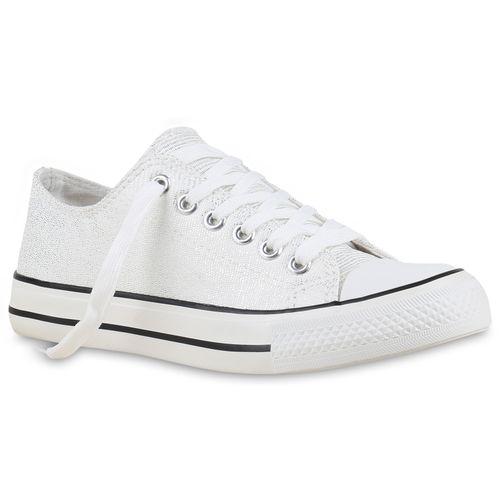 Damen Sneaker low - Silber