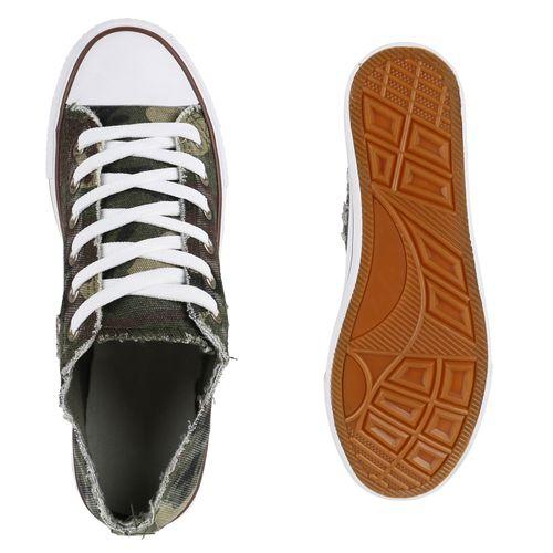 Damen Sneaker low - Camouflage