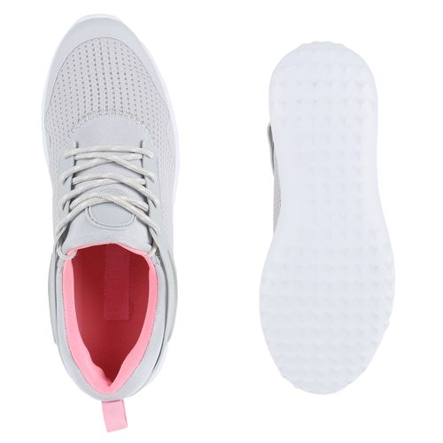 Damen Sportschuhe Laufschuhe - Grau