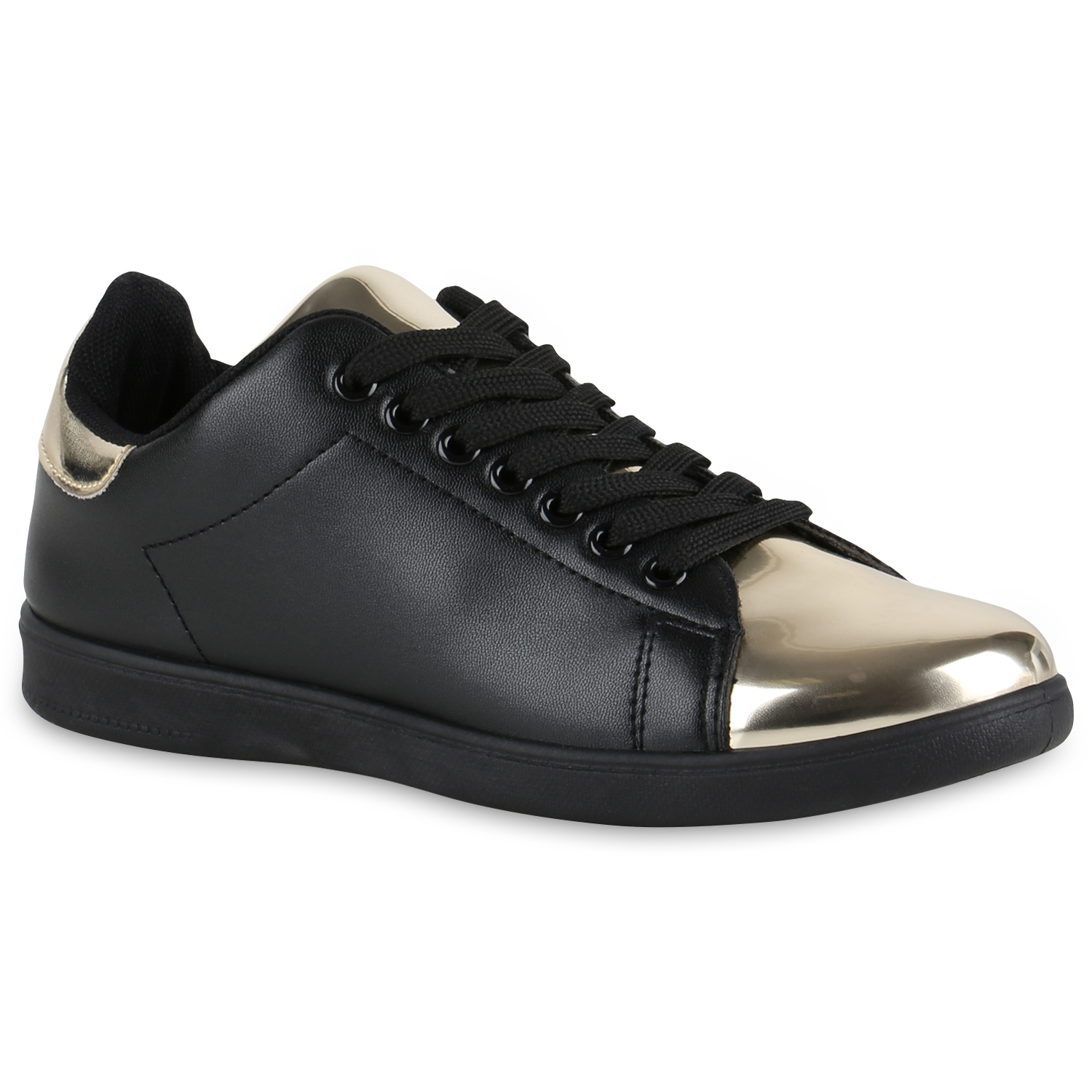 Damen Sneaker low - Schwarz Gold