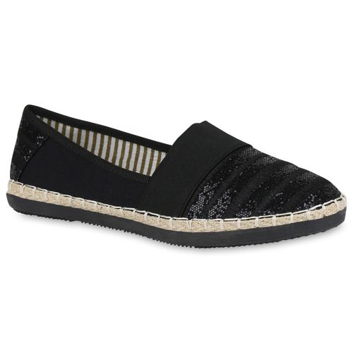Damen Slippers Damen Slippers Espadrilles Schwarz Damen Schwarz Slippers Espadrilles Espadrilles Schwarz SwPFZASq