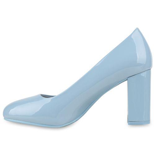 Damen Pumps Klassische Pumps - Hellblau