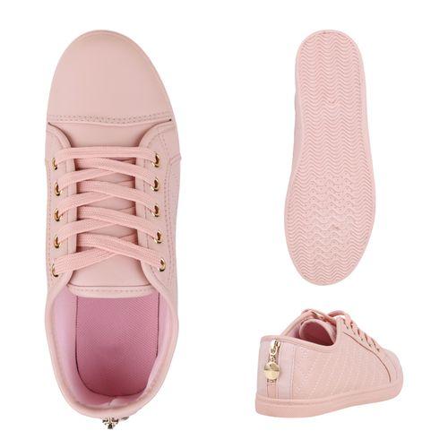 Damen Sneaker Sneaker Low Rosa Damen rrq0gXxd