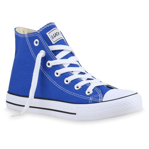 Damen Sneaker High Sneaker High Damen Blau Damen High Blau Sneaker Blau r6HqEwr