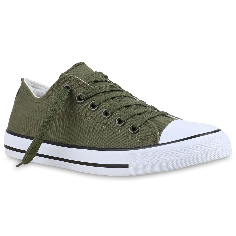 Herren Sneaker low - Olivgrün