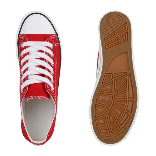 Sneaker Rot Low Damen Rot Weiß Weiß Damen Damen Sneaker Low Sneaker XqwInwxU4