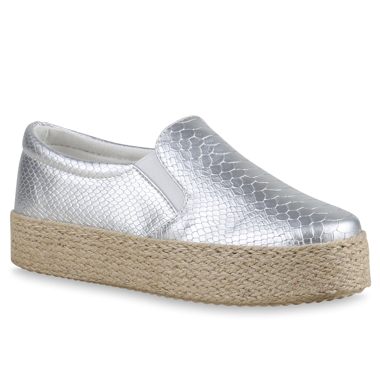 damen slippers in silber 815301 526. Black Bedroom Furniture Sets. Home Design Ideas