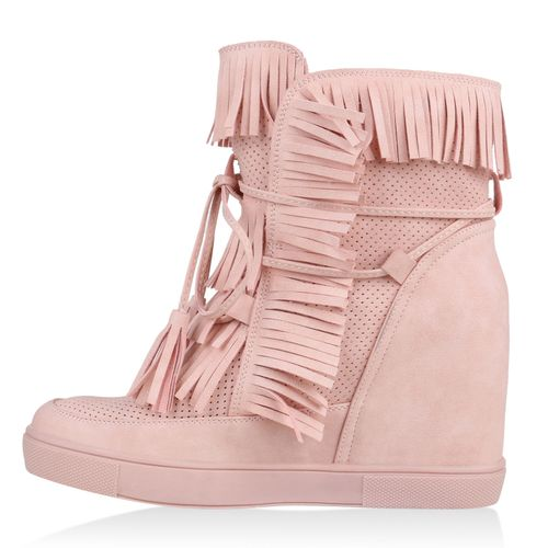 Wedges Damen Sneaker Rosa Sneaker Damen Wedges Damen Sneaker Rosa Rosa Sneaker Damen Wedges FAp8xHn