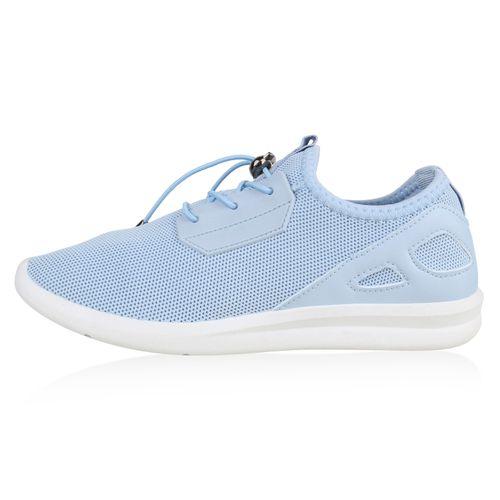 Damen Sportschuhe Laufschuhe - Hellblau