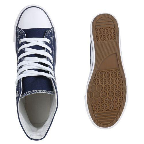Herren Herren Sneaker Dunkelblau High Dunkelblau Sneaker Herren High xw4qIc6ZE