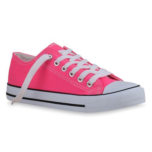 Damen Damen Damen Damen Sneaker Sneaker Neonpink Neonpink Sneaker Low Neonpink Low Low Sneaker AcRqz4En