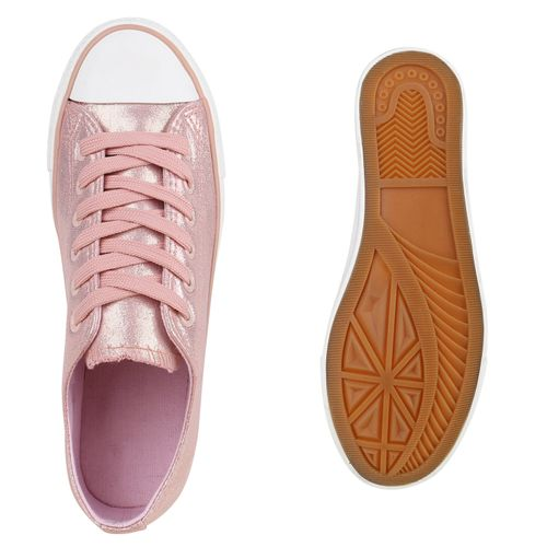 Sneaker Rosa Damen Sneaker Damen Low 8YEWPqw
