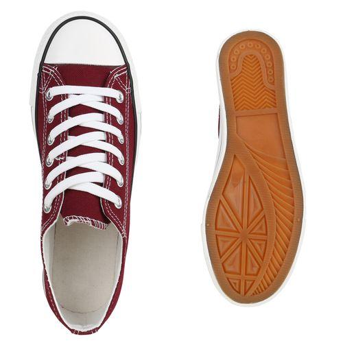Damen Sneaker low - Burgund
