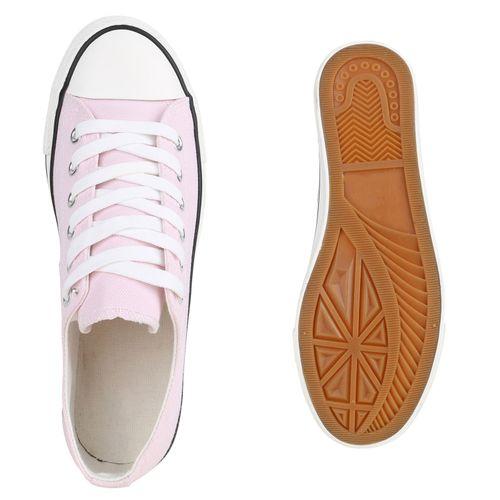Damen Sneaker low - Hellpink