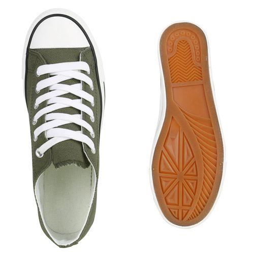 Low Damen Damen Sneaker Sneaker Dunkelgrün nwq1vOTz