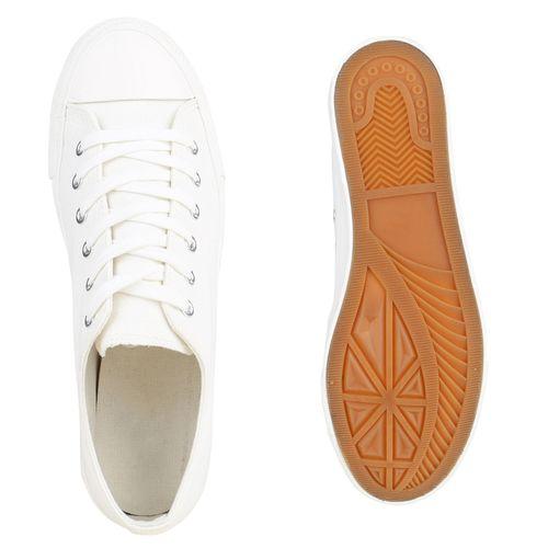 Herren Sneaker low - Weiß