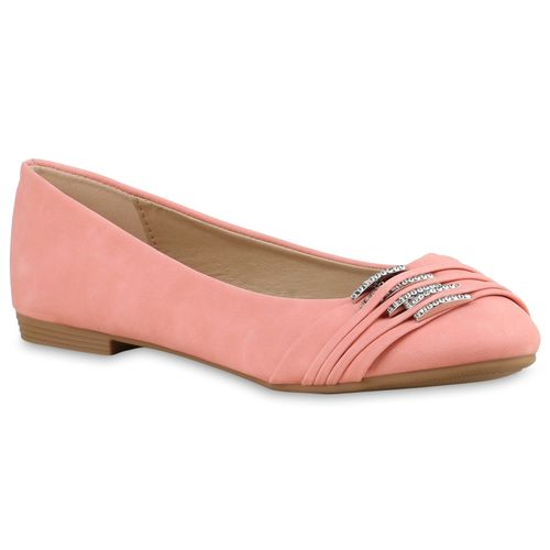 Apricot Ballerinas Damen Apricot Klassische Damen Ballerinas Damen Klassische PwTd6P