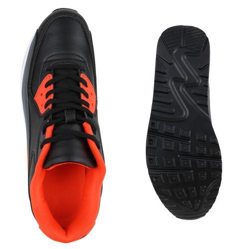 Herren Sportschuhe Laufschuhe - Schwarz Grau Orange