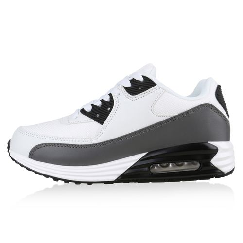 Damen Sportschuhe Laufschuhe - Weiß Grau