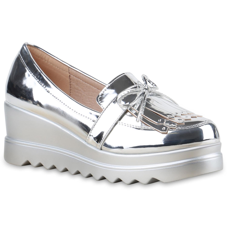 damen slippers in silber 815782 526. Black Bedroom Furniture Sets. Home Design Ideas