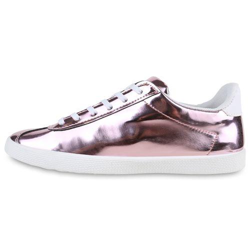 riesige Auswahl an neueste trends mehr Fotos Damen Sneaker low - Rosa Metallic