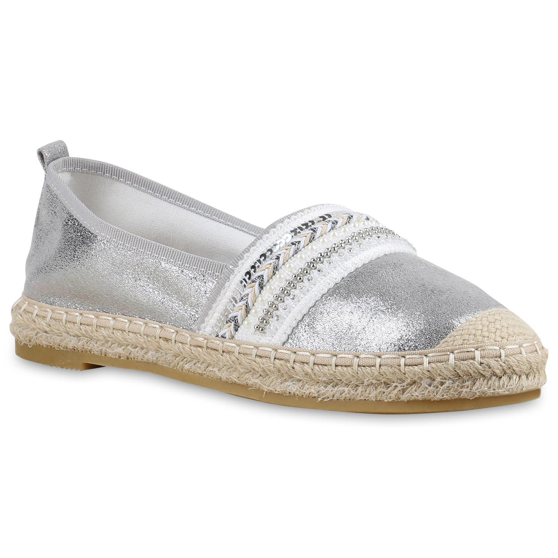 damen slippers in silber 815979 526. Black Bedroom Furniture Sets. Home Design Ideas