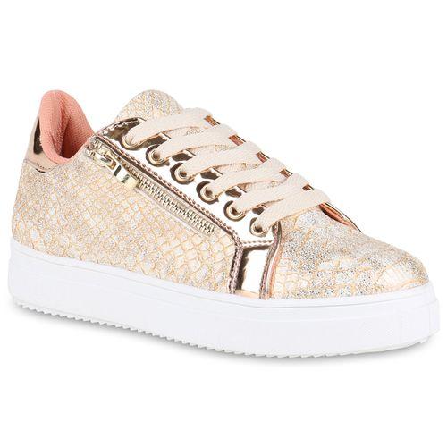 Sneaker Damen Rose Plateau Rose Gold Sneaker Rose Damen Plateau Sneaker Gold Plateau Damen qwInTwxFA
